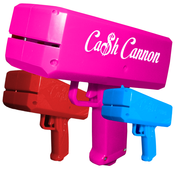 the cash cannon